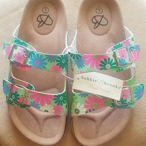 Other - Kid's floral sandals
